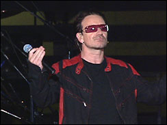 profile of Bono