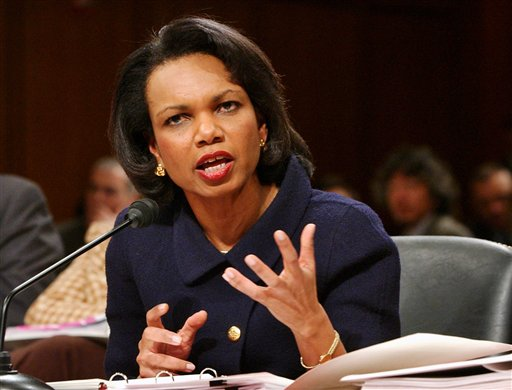 Rice Tells Senate Iran Number One Challenge for US