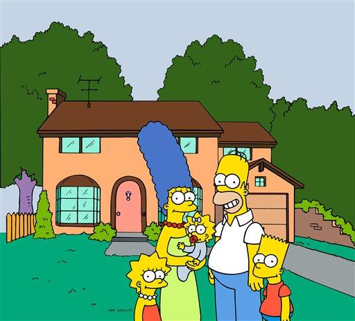 """""""Симпсонам """" продлили жизнь на два года.  Компромисс в вопросе сокращения..."""