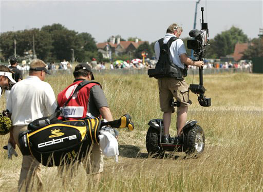 segway at open championship