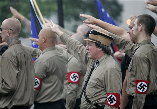 American neo-Nazi rally