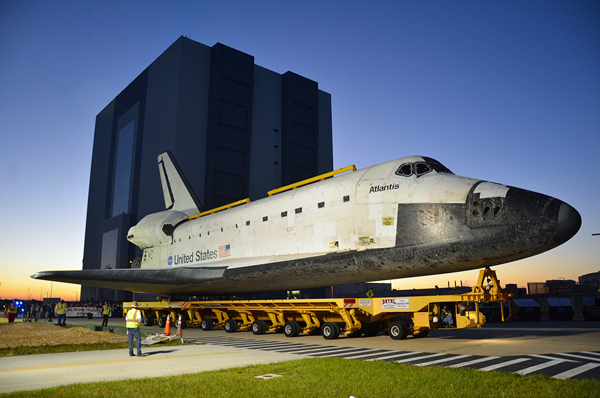 Shuttle Atlantis Museum Shuttle Atlantis Makes Final