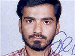 Sayyad Zabiuddin, suspect in this week's train bombings