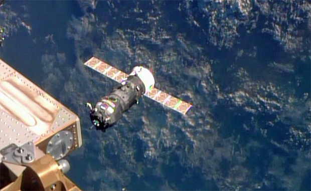 Progress supply ship docks with space station | Space News ...