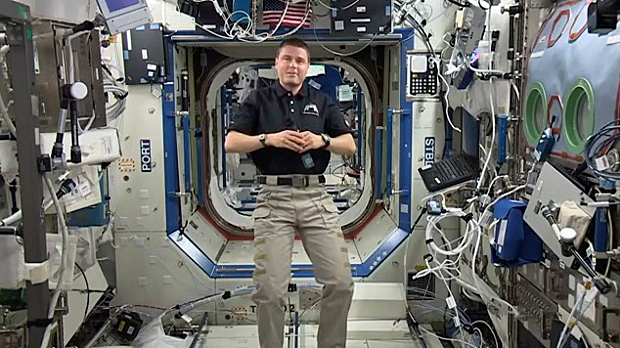 Station astronaut says commercial space 'next breakthrough ...