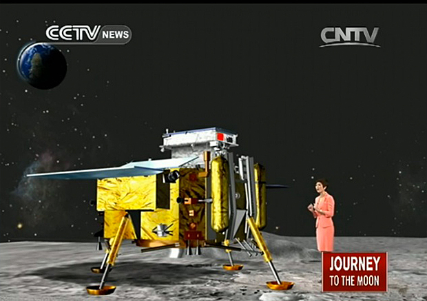 China S Chang E 3 Spacecraft Lands On Moon Updated