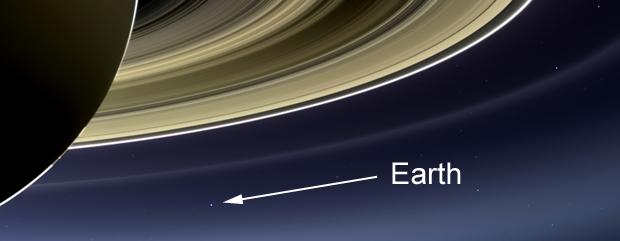 Stunning Cassini mosaic shows Earth, Mars and Venus ...