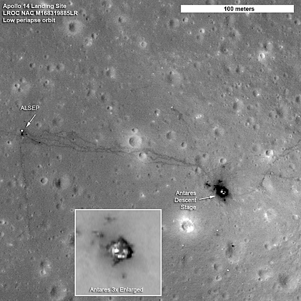 moon landing site junk - photo #3